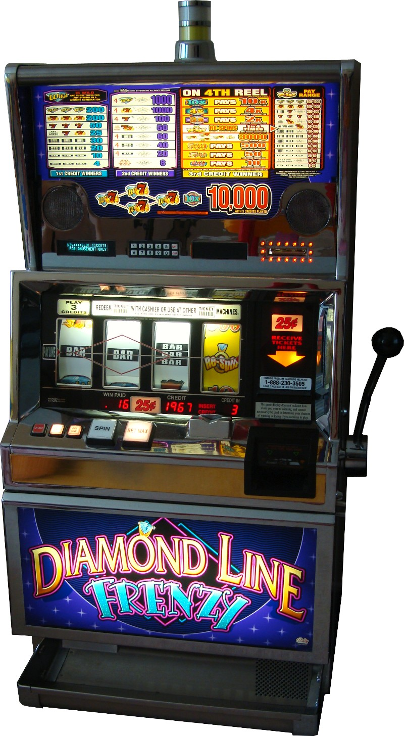 bally gaming slot machines